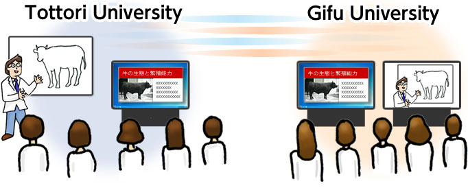 Distance Lecture System