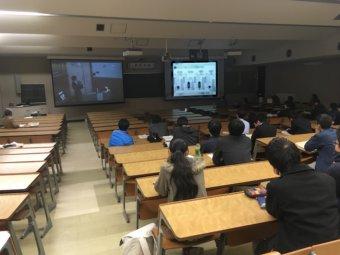 鳥取大生の発表
